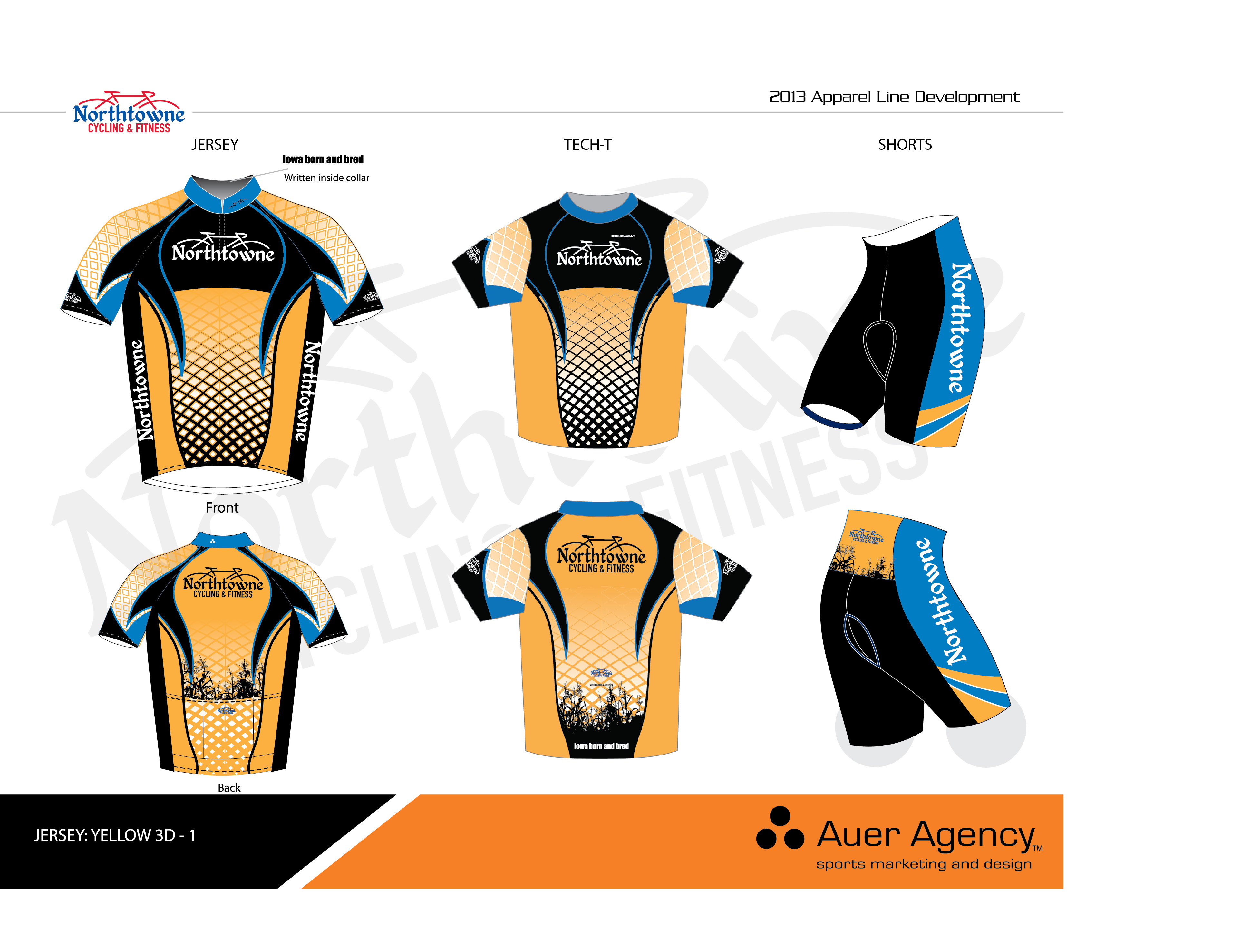 NorthtowneJerseyFInal. Custom cycling apparel with Northtowne s ... 9caf54276