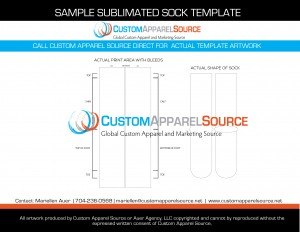 CAS Sample Sub Sock Template