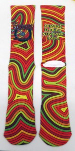 Sublimated Socks for Corvair Cycling Team
