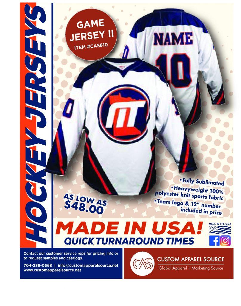 Custom Sublimated Hockey Jerseys - Custom Apparel Source