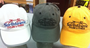 Custom Hats with Northtowne Embroidered in matching colors